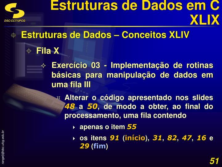 Estruturas de Dados em C XLIX