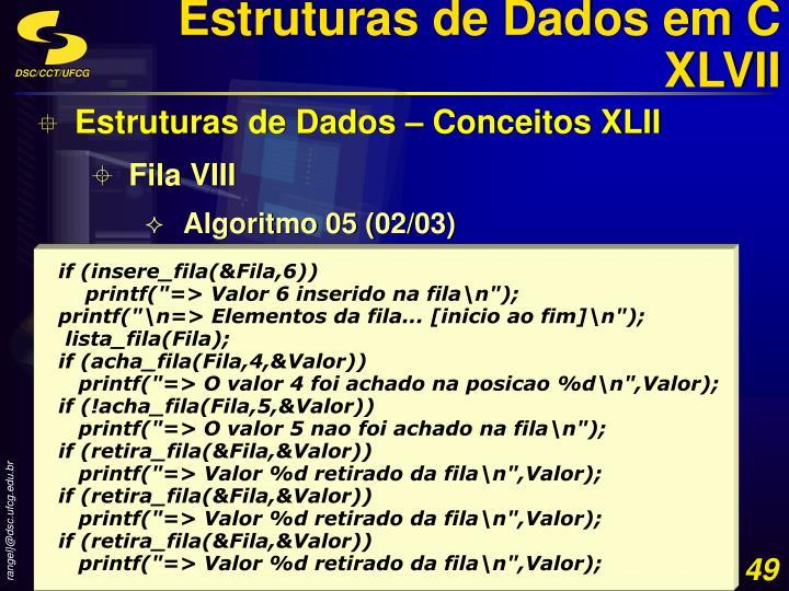 Estruturas de Dados em C XLVII