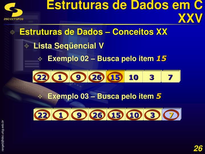 Estruturas de Dados em C XXV