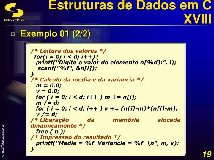 Estruturas de Dados em C XVIII