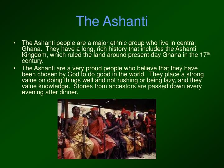 The Ashanti