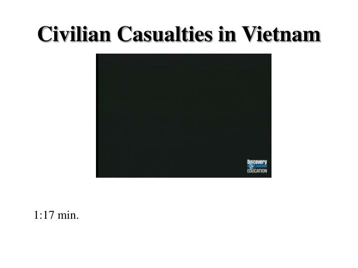 Civilian Casualties in Vietnam