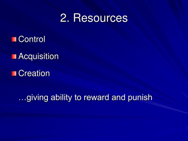 2. Resources
