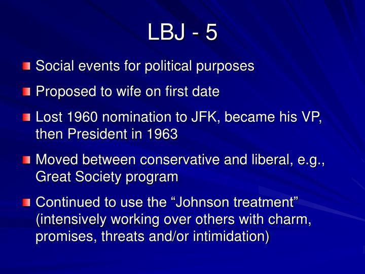 LBJ - 5