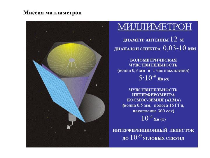 Миссия миллиметрон