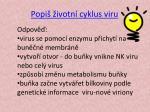 popi ivotn cyklus viru1