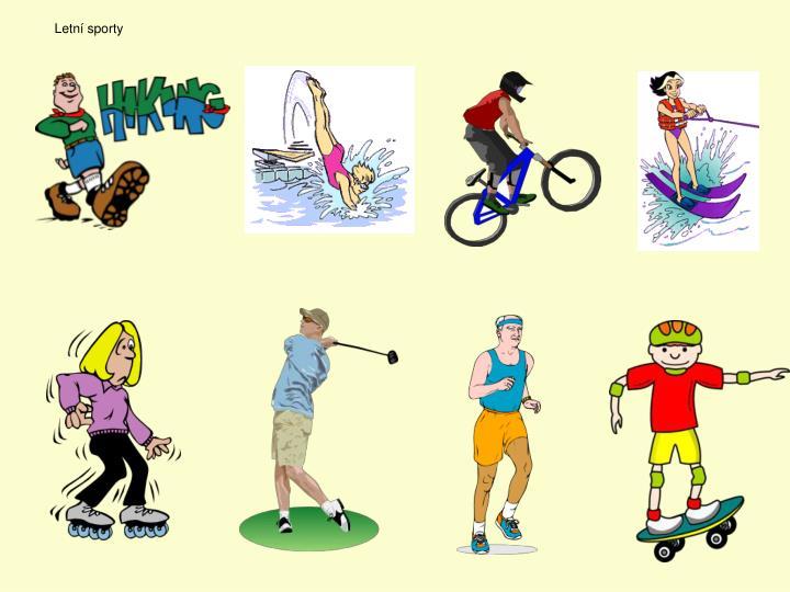 Letní sporty