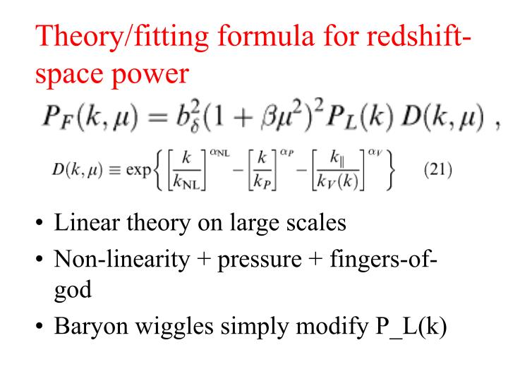 Theory/fitting formula for redshift-space power