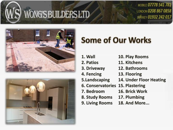 Some of Our Works