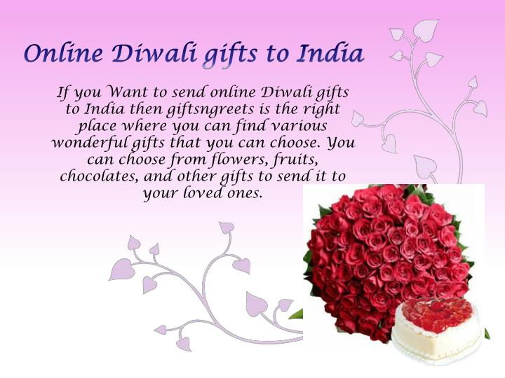 Online Diwali gifts to India