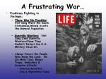 a frustrating war