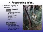 a frustrating war1