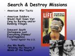 search destroy missions