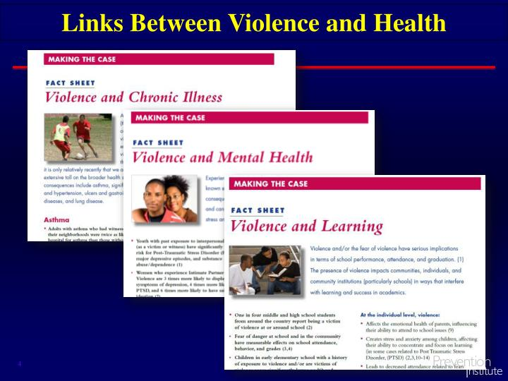Links Between Violence and Health