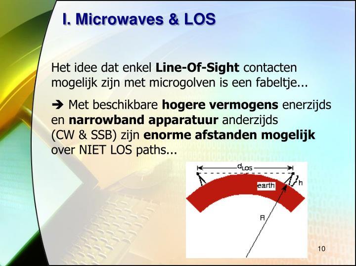 I. Microwaves & LOS