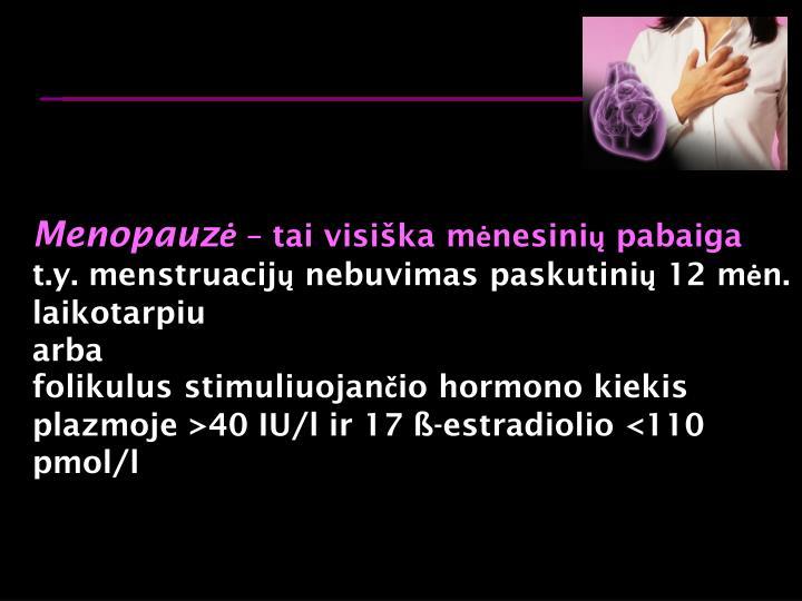 Menopauz