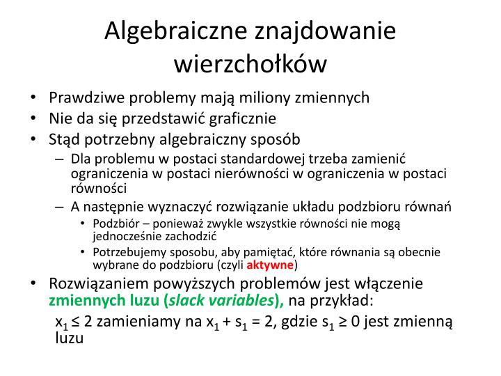 Algebraiczne