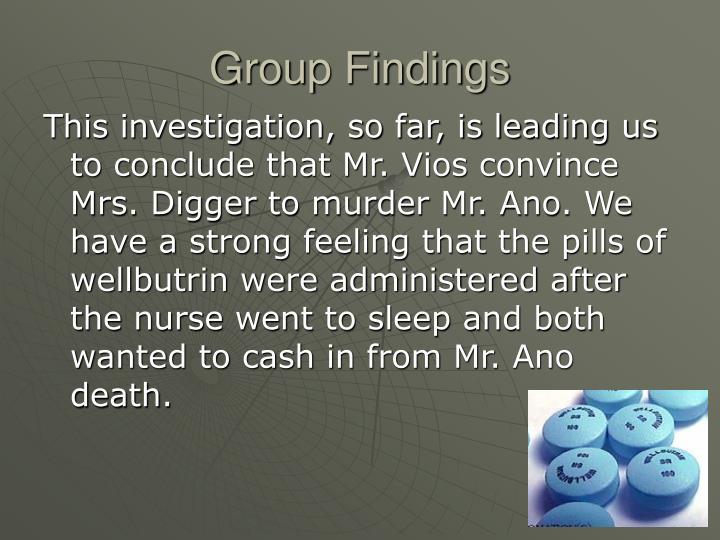 Group Findings