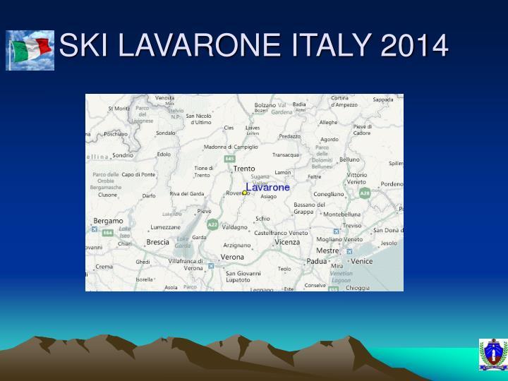 Ski lavarone italy 2014