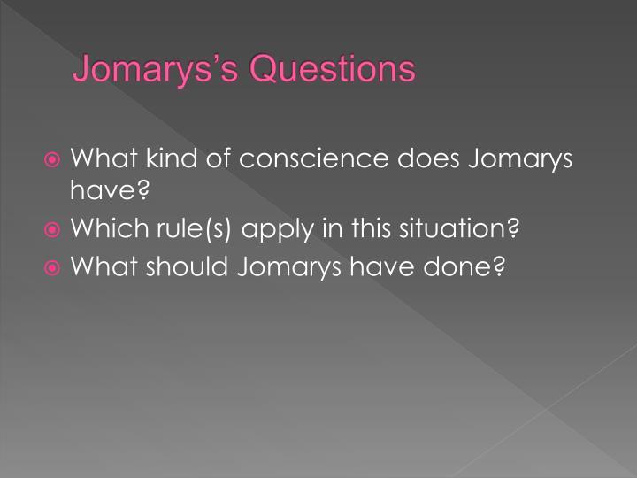 Jomarys's