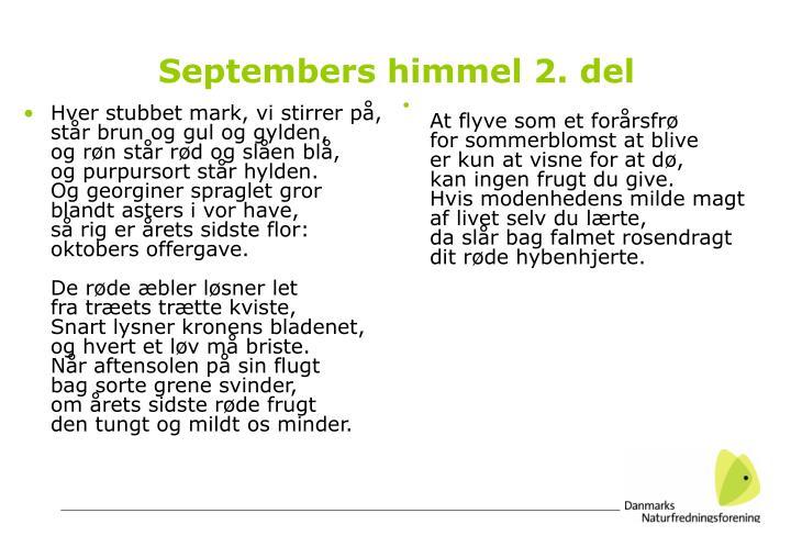 Septembers himmel 2. del