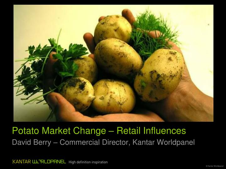 Potato market change retail influences