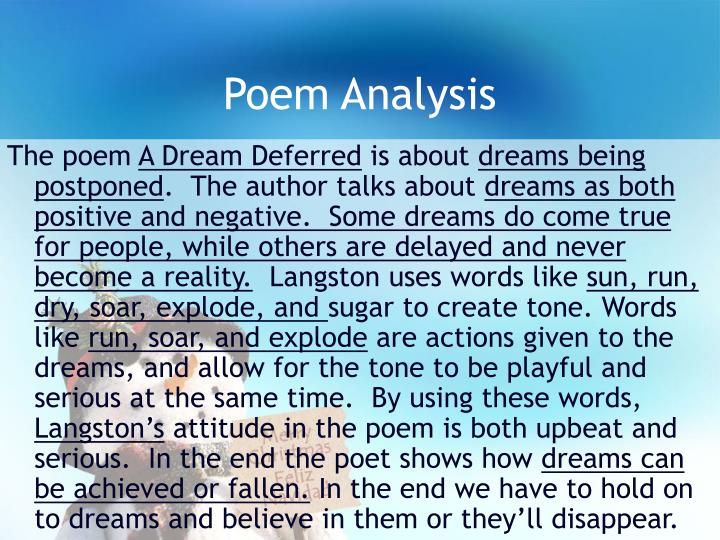 "an analysis of a model poem of theme for english b His poem ""theme for english b"" was written in free verse and is a clear example of his noticeable writing style in the poem ""theme for english b,"" the speaker is a young, black college student living in harlem."