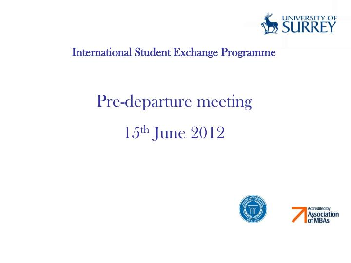 International Student Exchange Programme