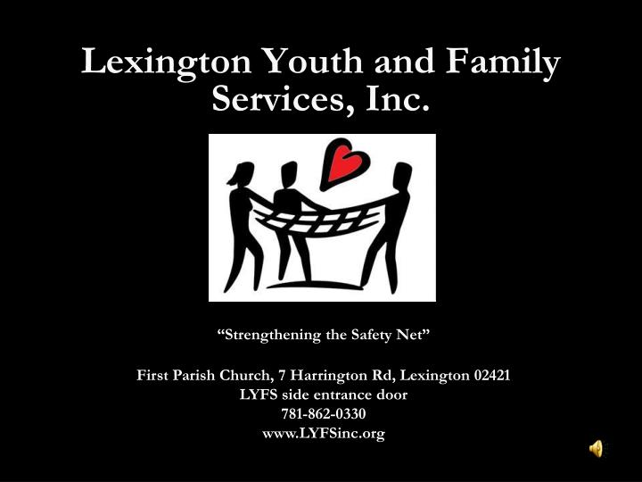 Lexington youth and family services inc