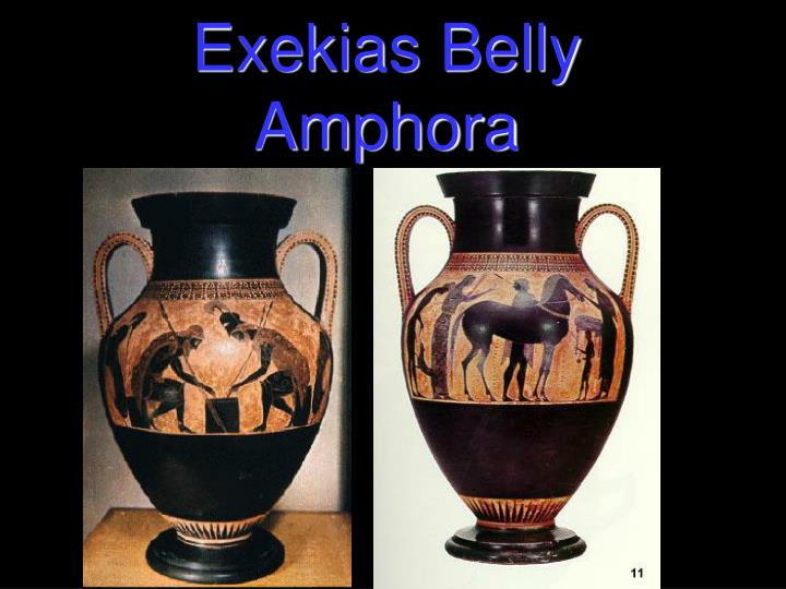 Exekias Belly Amphora