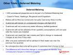 other trials deferred metering