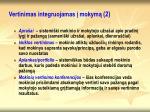 vertinimas integruojamas mokym 2