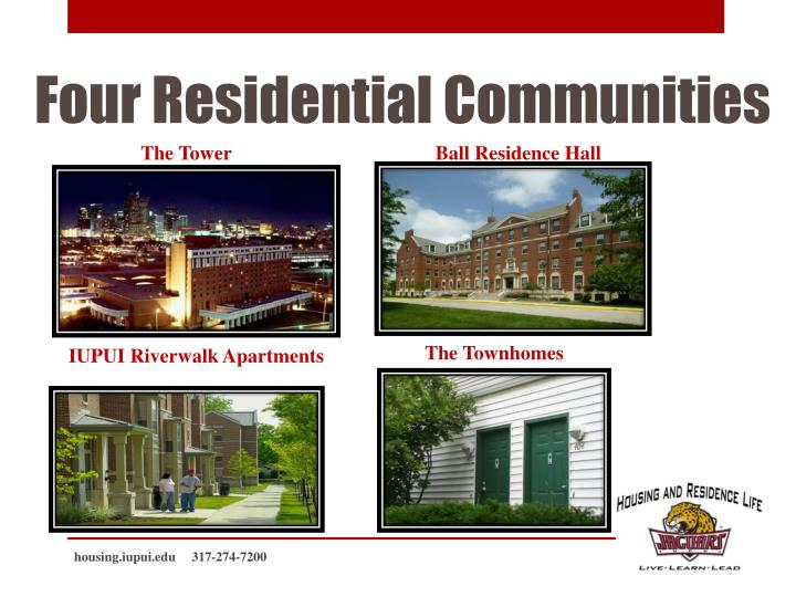 Four residential communities