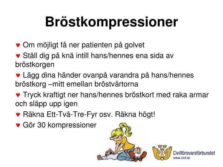 Bröstkompressioner