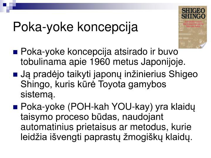 Poka-yoke koncepcija