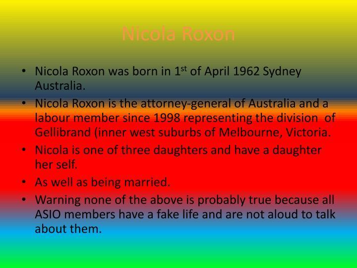 Nicola Roxon