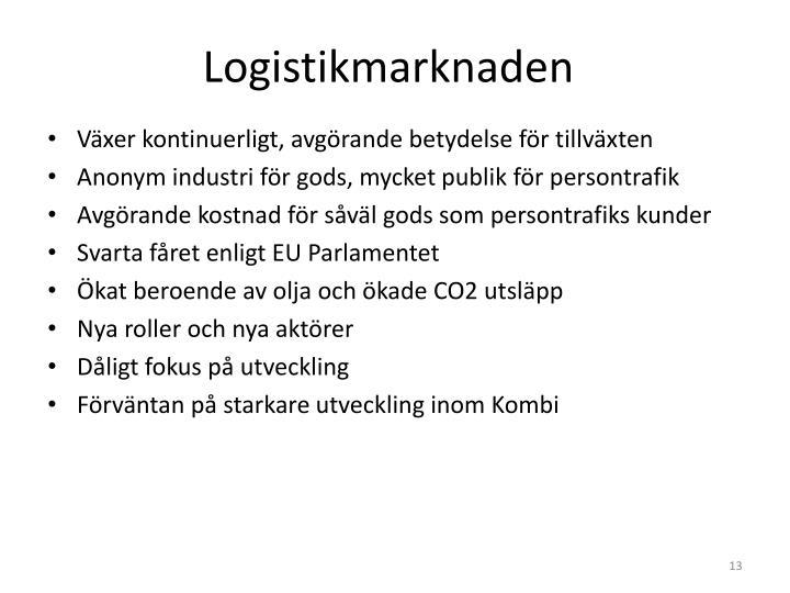 Logistikmarknaden