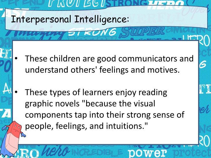 Interpersonal Intelligence: