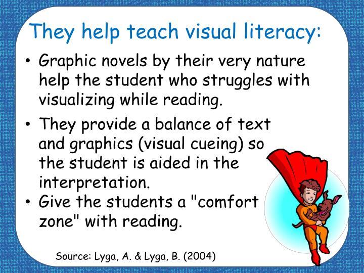 They help teach visual