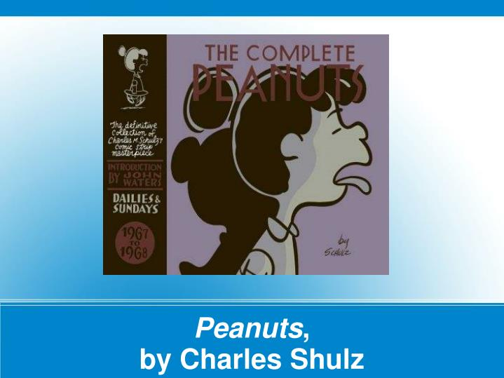 Peanuts by charles shulz