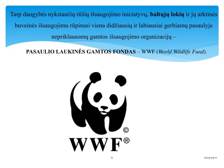 Tarp daugybės nykstančių rūšių išsaugojimo iniciatyvų,