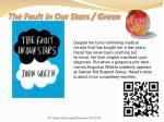 the fault in our stars green