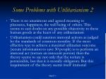some problems with utilitarianism 2