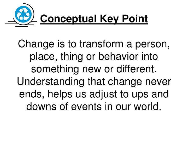 Conceptual Key Point