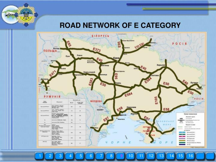 ROAD NETWORK OF