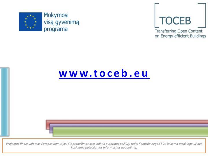www.toceb.eu