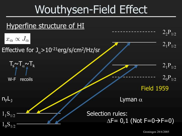 Wouthysen-Field Effect