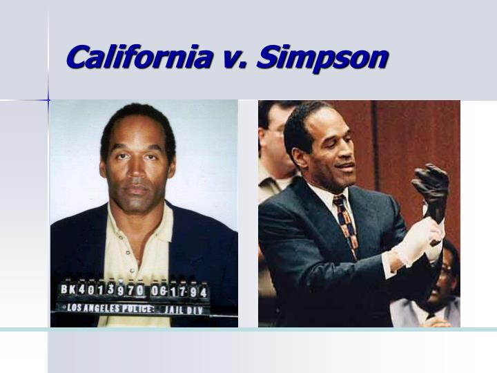 California v. Simpson