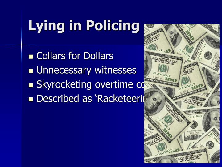 Lying in Policing