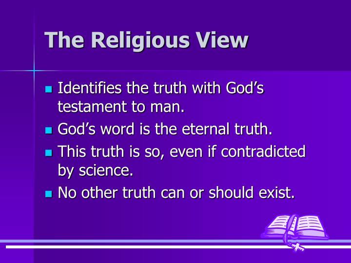The Religious View